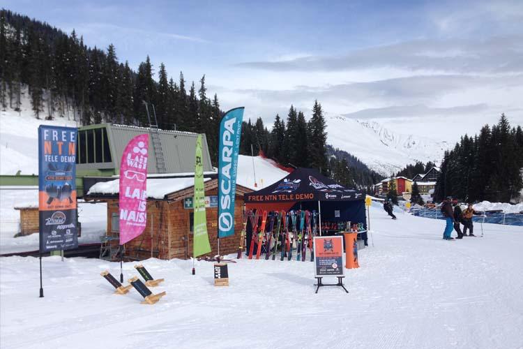 Hochfügen  Telemark Skitest Zillertal