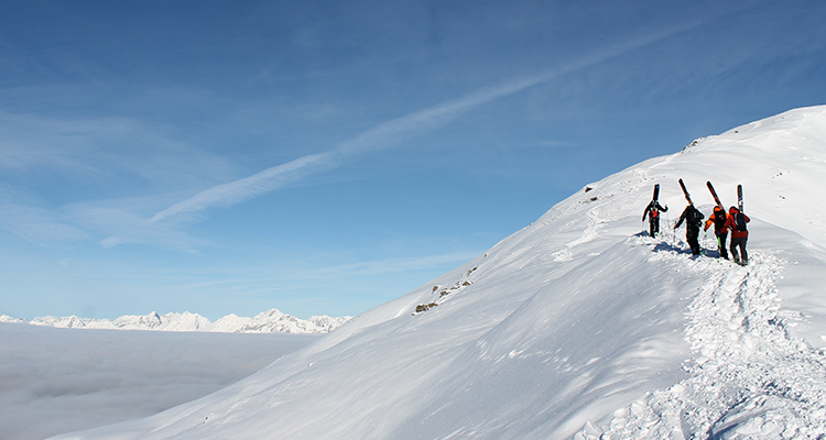 Hike and Ride Freeride Zillertal Schnee-Hotspot Witnerurlaub