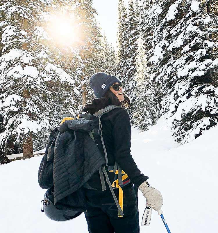 Skitour Hochfügen Winterurlaub Tirol Tourenski Tiefschnee Tirol
