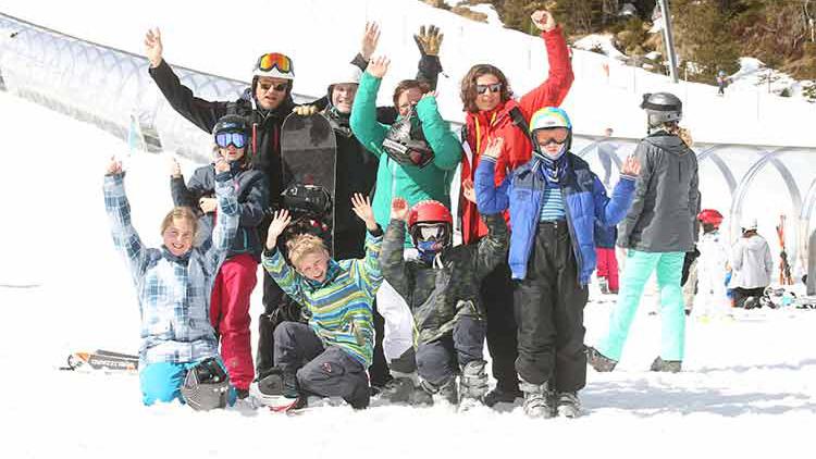 Skiliftgesellschaft Hochfügen SOS-Kinderdorf Zillertal Skiurlaub