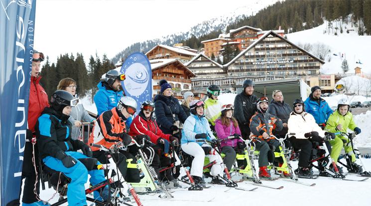 Skiregion Hochfügen Schneetiger Stiftung Engagement Skitage Zillertal