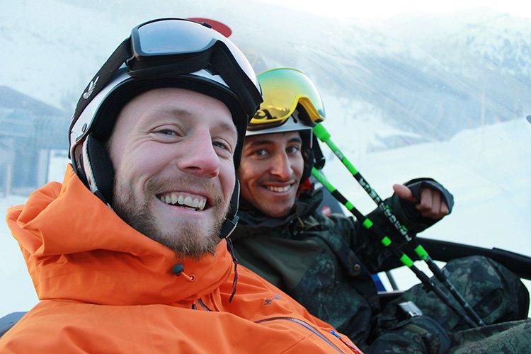 Freeride Zillertal Vorfreude CAT Skiing Skifahren Hochfügen