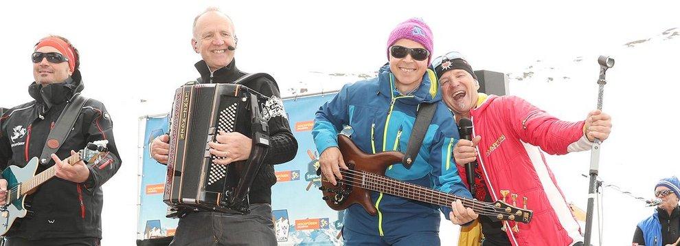 Musik Hochfügen Liveband Zillertal Skigebiet Skifahren Seilrennen