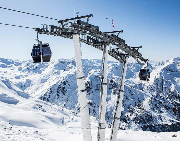 Pistenplan geöffnete Pisten Pistenkilometer Zillertal Tirol Hochfügen