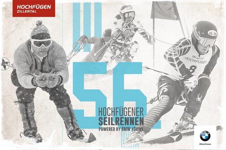 Seilrennen BMW Tradition Moderne Hochfügen Skigebiet Zillertal