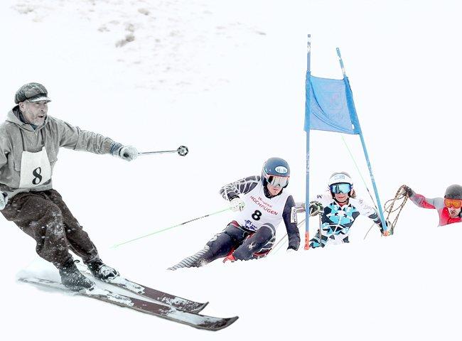 Seilrennen Zillertal Hochfügen Legenden Skistars Skirennen