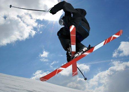 Freestyle SkiCheck Skischule Stunts Schneegestöber Skitricks Zillertal