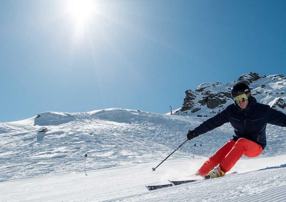 Skifahren in Hochfügen im Zillertal