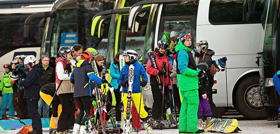 Sicher nach Hause Hochfügen Zillertal Schnee Winterurlaub