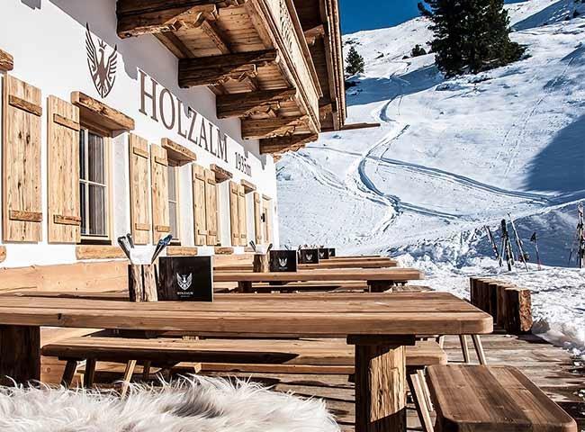 Holzalm Hochfügen Zillertaler Bergwelt Tiroler Rezepte Kulinarik