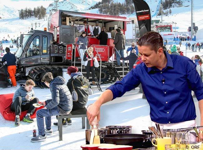 Snowlicious Kulinarik Haubenküche Fankhauser Foodtruck Pistenraupe Zillertal