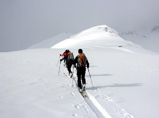 Nachtskitour Wintererlebnis Tiefschneehang Powder Backcountry Skiwandern Zillertal Hochfügen