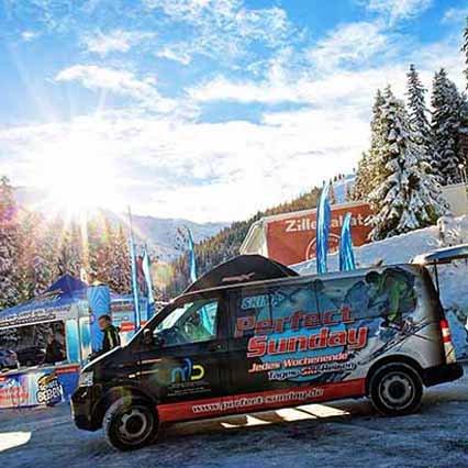 Zillertal Hochfügen Schneebeben Perfect Sunday Tagesausflug Winterurlaub