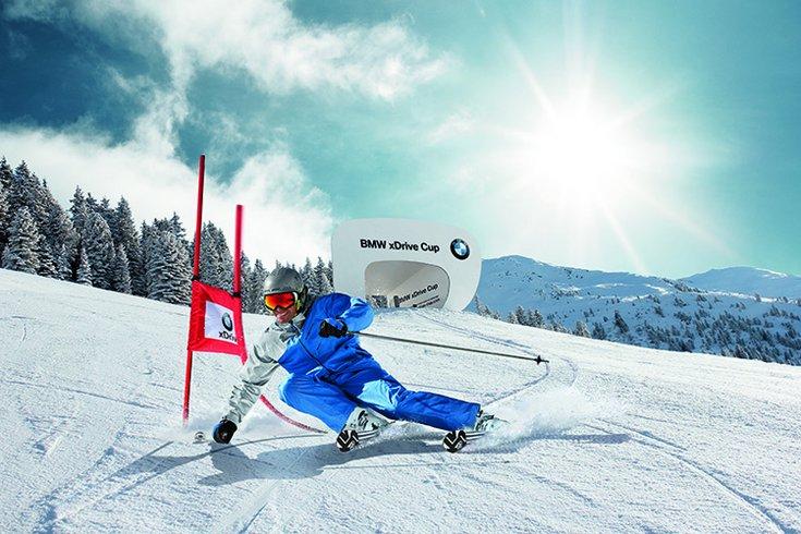 BMW Xdrive Cup in Hochfügen im Zillertal Skirennen