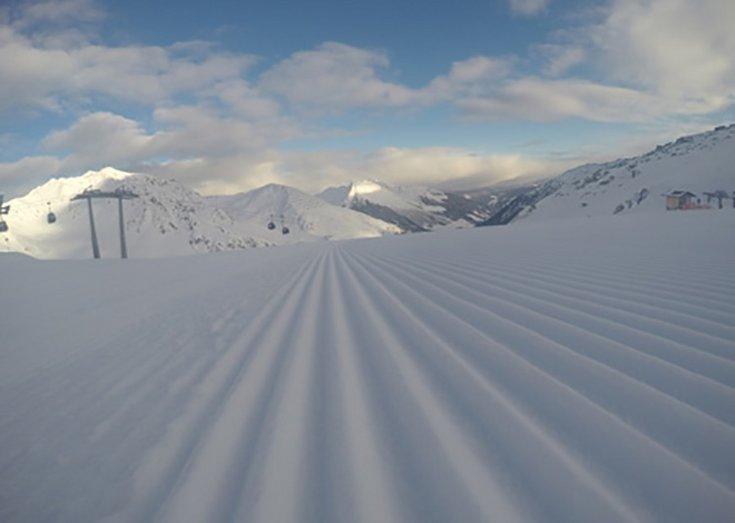 Skipisten Hochfügen Skigebiet Zillertal Winterskiurlaub Winterskifahren Frühlingsskifahren