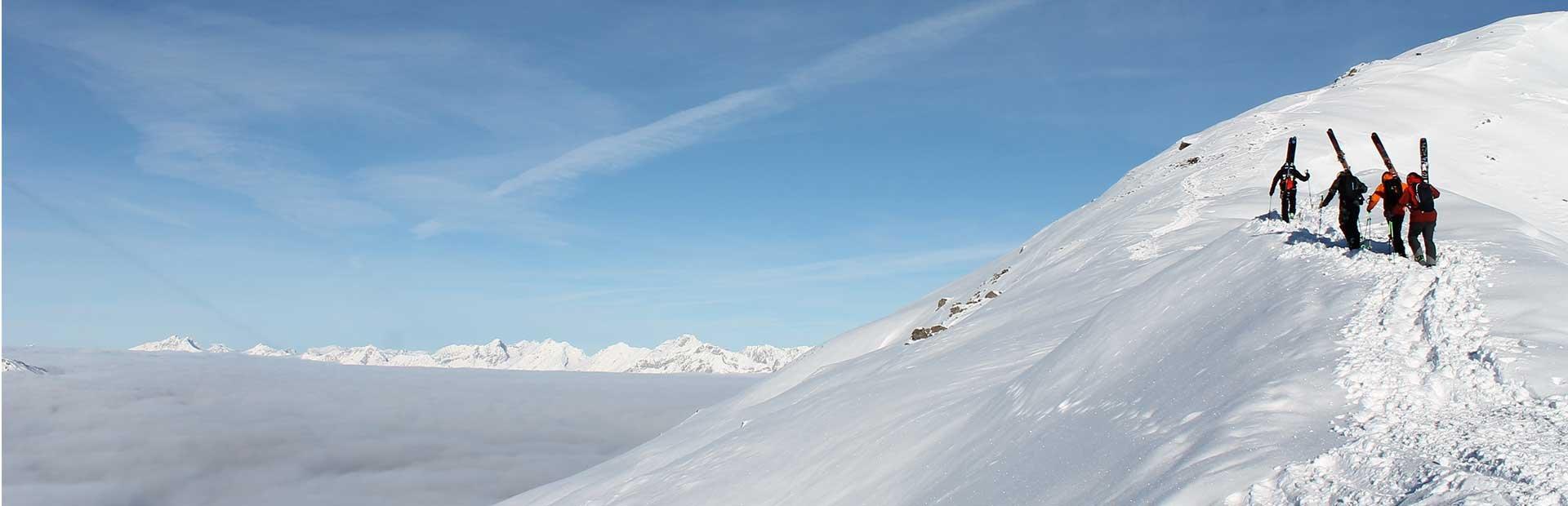Zillertal Freeride Skifahren