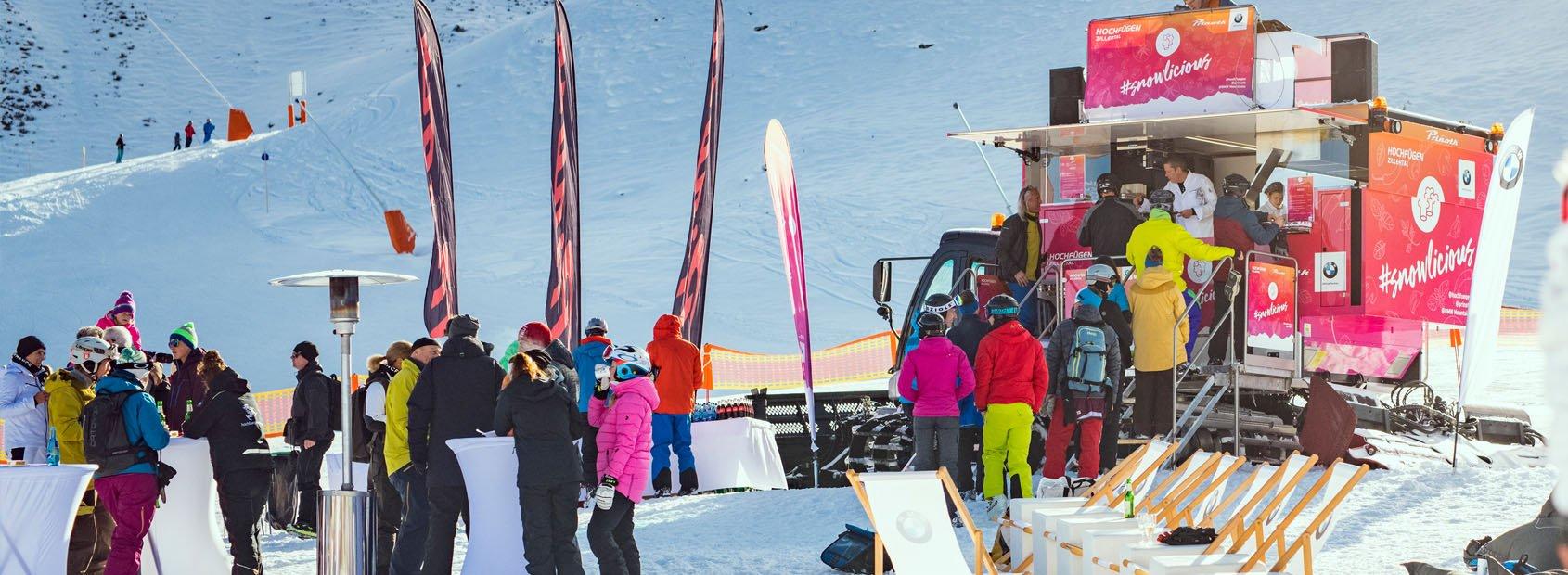 Snowlicious Après-Ski DJ on Top Haubenküche