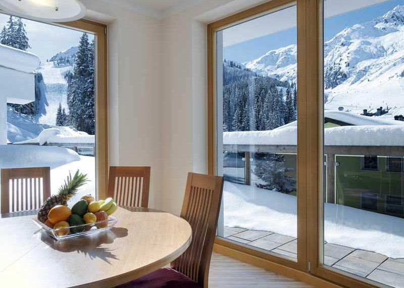 Chalet Apart Hochfügen Hotelzimmer Skiurlaub Winter Schnee