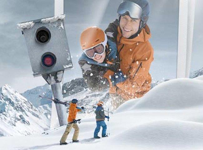 Skivideo Skifoto BMW Mountains Schneemomente Skigebiet Zillertal