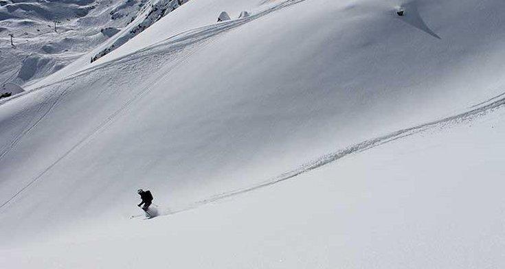 Sicherheit Tiefschnee Stumböck Heliskiing Tirol Zillertal