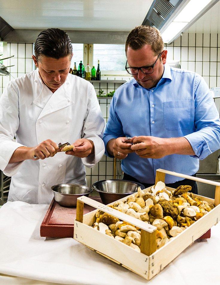 Tiroler Spezialitäten Wintergerichte Sterneküche Kulinarik Fankhauser Hochfügen