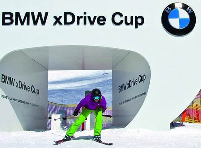 BMW Hochfügen Zillertal Wettrennen Wettkampf Skirennen