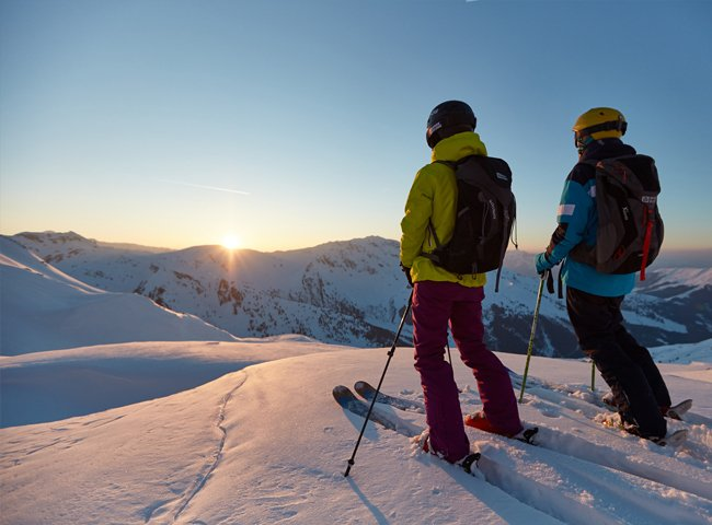 Hike Ride Hochfügen Tiefschnee Off-Piste Skitouren Freeride