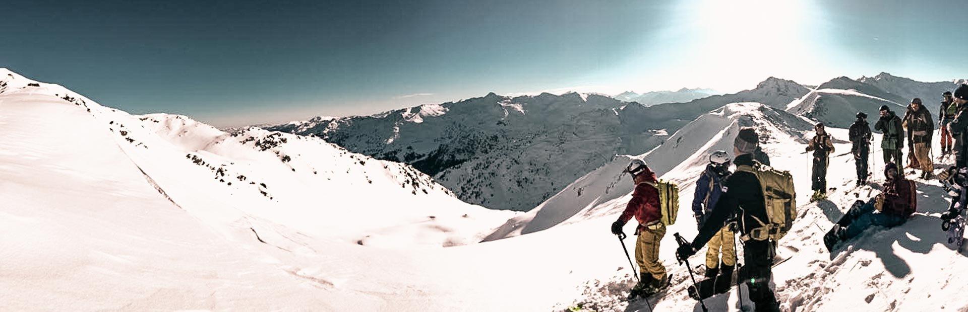 Hochfügen Skitour Skiwandern Skifahren Tiefschnee