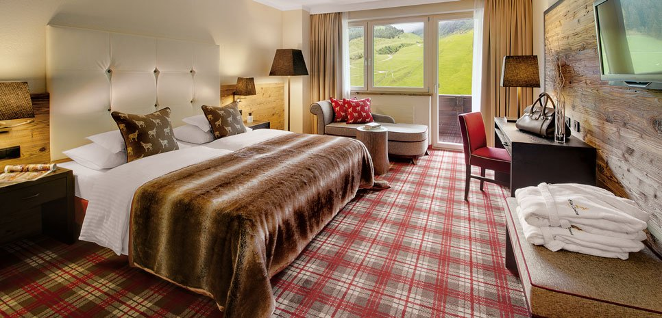 Zimmer Unterkunft Hotel Lamark Buchen Winterurlaub