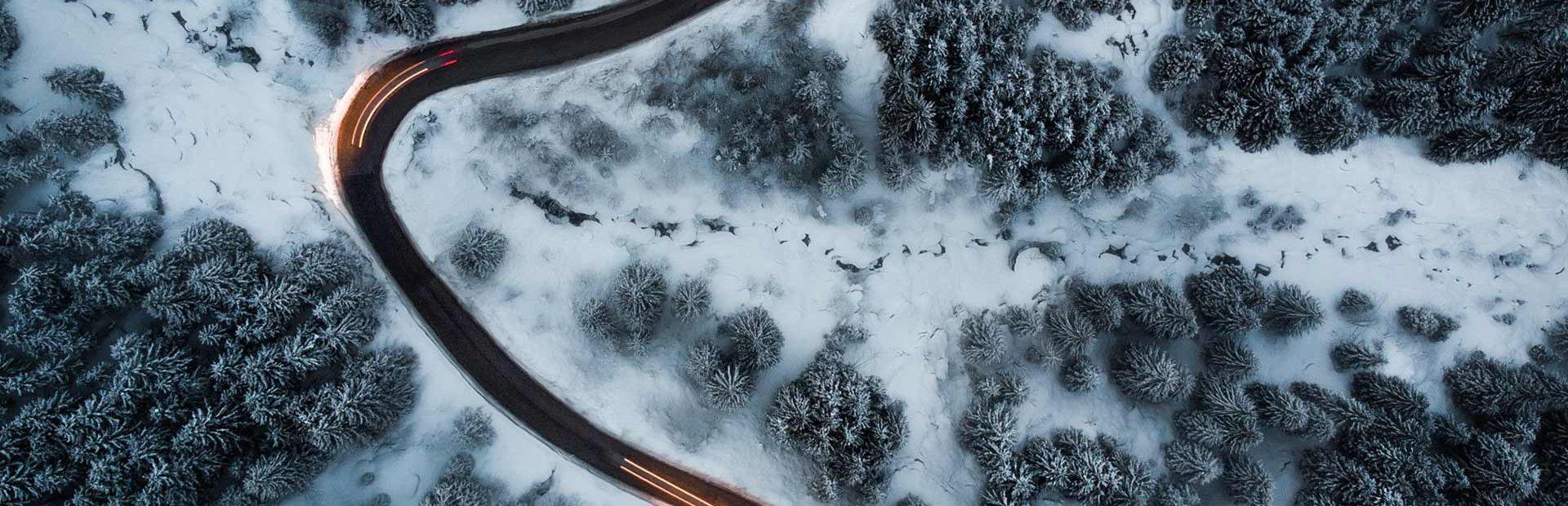 Hochfügen Straße Anfahrt Zillertal Skigebiet