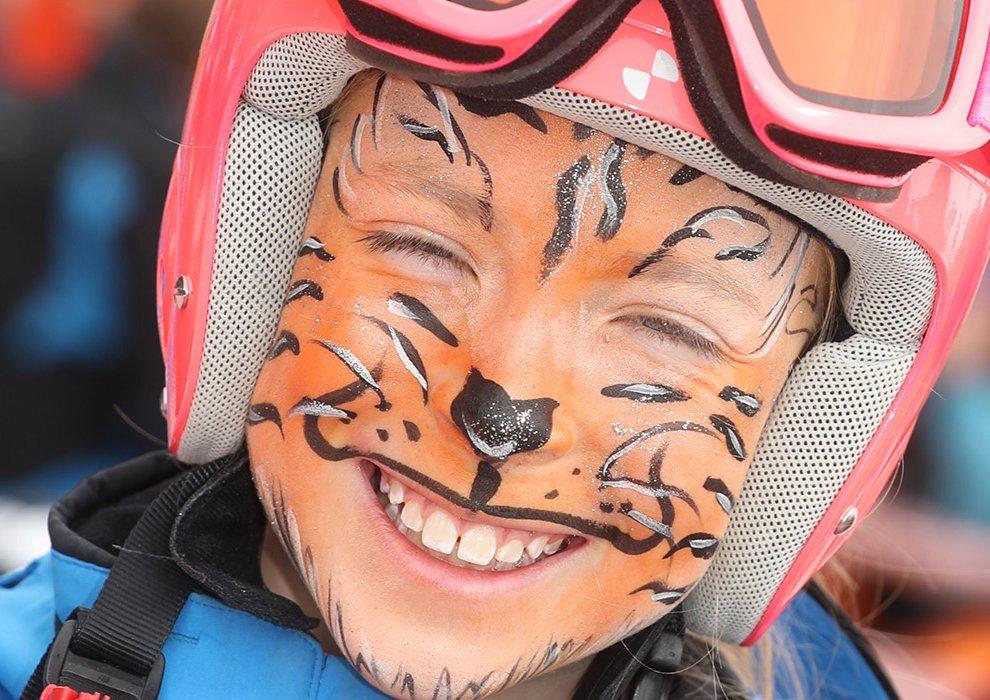 Familienprogramm Hochfügen Seilrennen Tirol