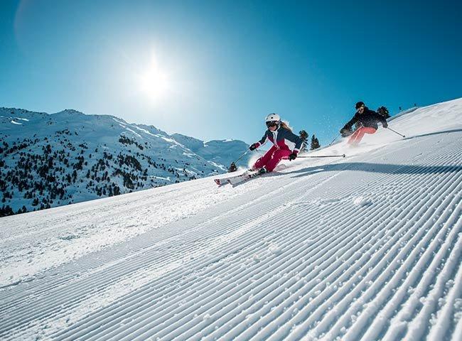 Hochfügen Pistenspaß Wintererlebnis Zillertal Tirol