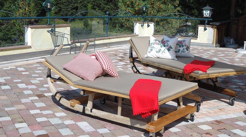Skigebiet Hochfügen Sonnenterrasse Hotel Almhof Relaxen Entspannung Skiregion Zillertal
