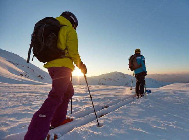 Wochenenden Schnee Skifahren Hochfügen off-piste