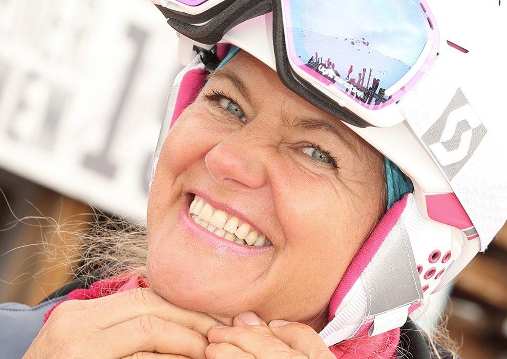 Seilrennen Helm Sicherheit Hochfügen Tirol Skigebiet