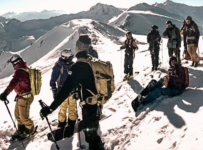 Skitour Hochfügen Gipfelsieg Wintersport WIntermomente