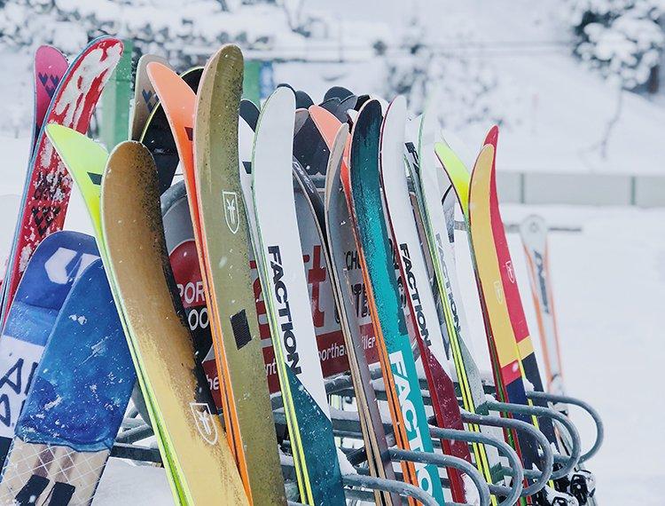 Powder Hochfügen Shredden Zillertal Freeriden Tiefschnee Winter