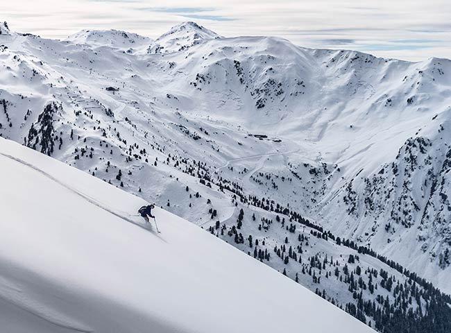 Powder Hochfügen Tirol