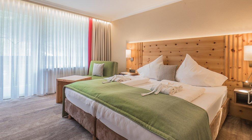 Berghotel Hochfügen Hotelaufenthalt Zillertal Nächtigen Doppelzimmer
