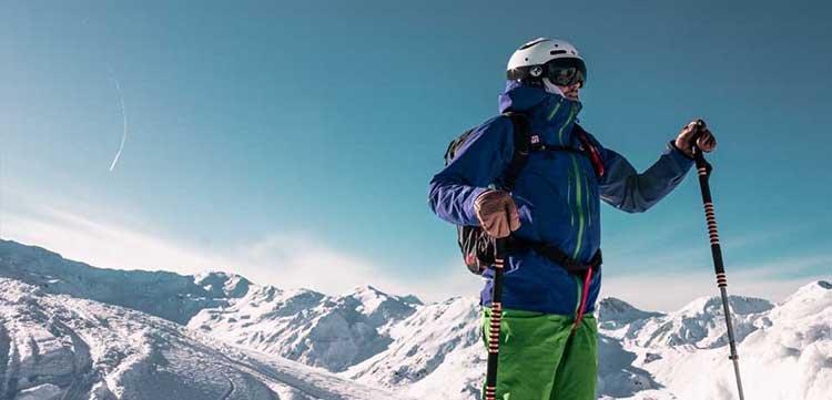 Zillertaler Alpen Freeriding Skigebiet Hochfügen Tiefschnee Skiregion Zillertal Powder