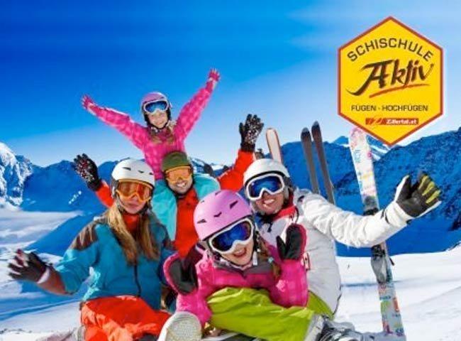 Schifahren Skischule Aktiv Hochfügen Zillertal
