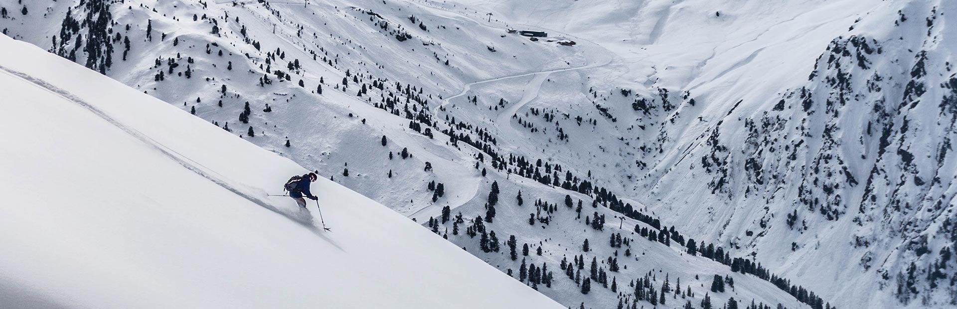 Hochfügen Tiefschnee Powder First Line Zillertal