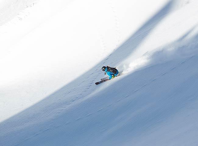 Pulverschnee Skigebiet Hochfügen