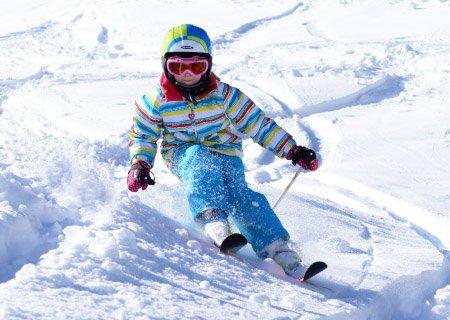 SkiCheck Kinderskikurs Kinderrennen Skifahren Hochfügen