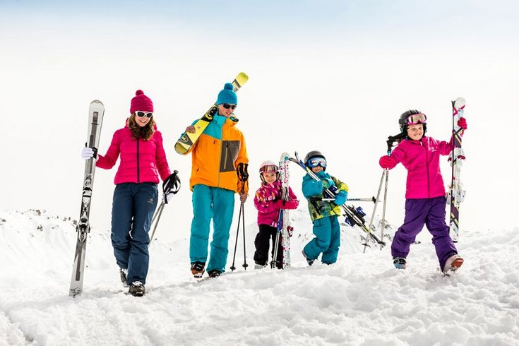 Skischule Kostenzer Skispaß Skifahren Familientag Wintertraum Zillertal