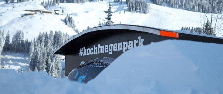 Snowpark Lamark Freestyle Schanzen Sprünge Sliden Skifahren