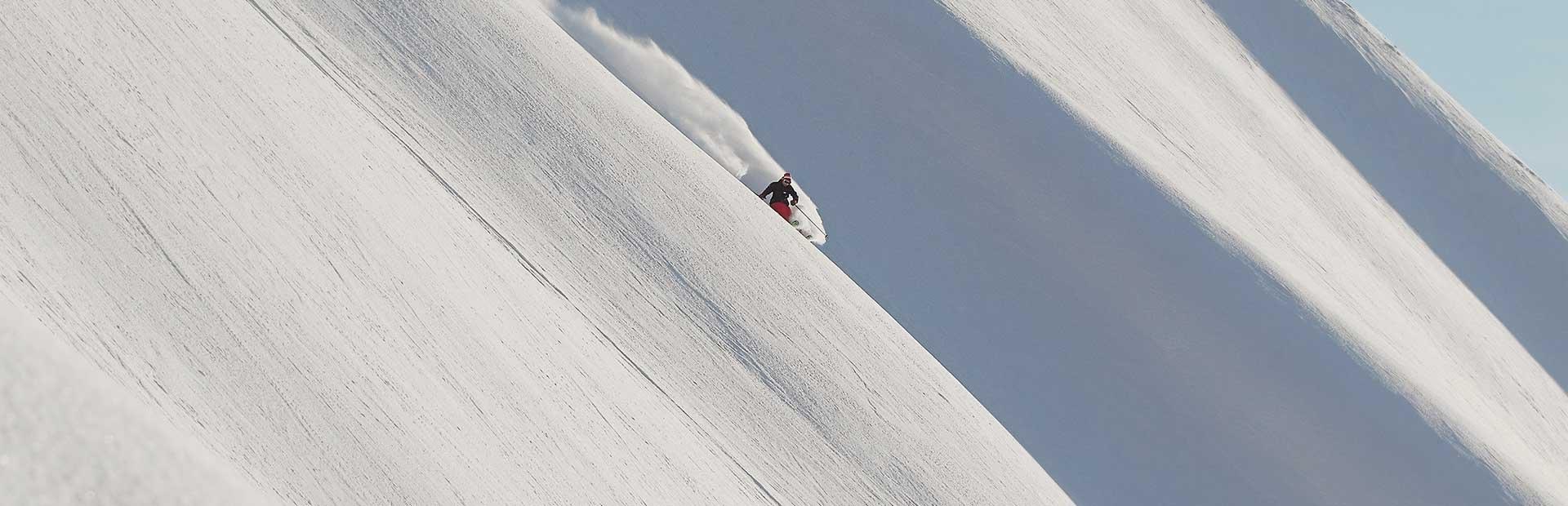 Hochfügen Zillertal Skifahren Pulverschnee