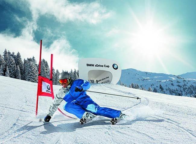 Skirennen BMW Hochfügen Tirol Slalom
