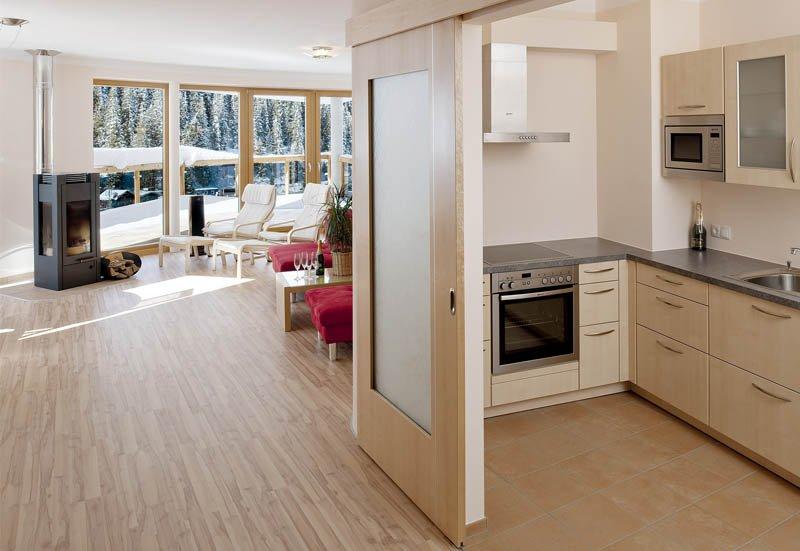 Chalet Apart Hochfügen Skiurlaub Küche Zimmerausstattung Hotel