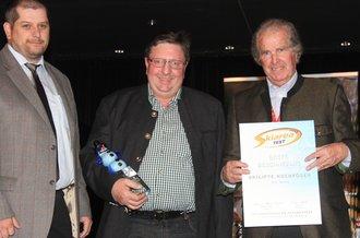 Auszeichnung zur Beschneiung Skiareatest Hochfuegen